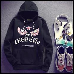 Áo khoác nam hoodie Panda
