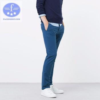[ Chuyên sỉ - lẻ ] Quần dài kaki nam Facioshop QC178