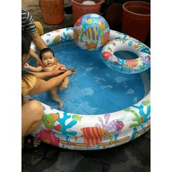 Bể bơi intex 3 chi tiết