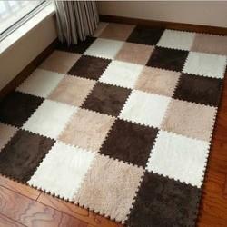 Set 10 tấm thảm ghép lông xốp