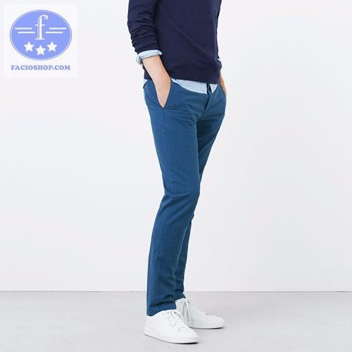 [ Chuyên sỉ - lẻ ] Quần dài kaki nam Facioshop QC178 1