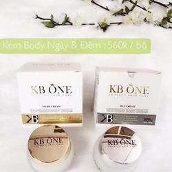 Kem dưỡng trắng da ngày và đêm Kbone 150g