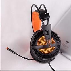 Tai nghe chuyên game Sades A6 cổng USBGiả lập âm thanh 7.1