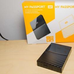 Ổ cứng gắn ngoài WD 1TB Passport Ultra 2017