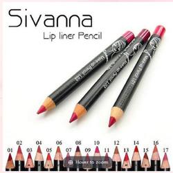 Chì kẻ viền môi ngắn 9cm SIVANNA Lip Liner