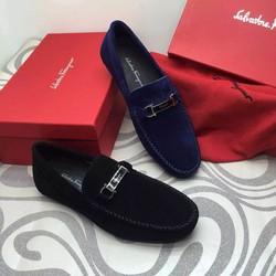 Giày lười nam chất liệu da lộn mới,trẻ trung,lịch sự