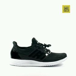 Giày thể thao nam kiểu Ultra B00st siêu nhẹ vải co giãn mã 16048-đen