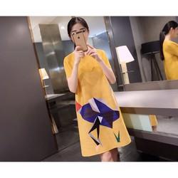 Đầm nữ thời trang, kiểu dáng cá tính, phong cách hiện đại-D11472149