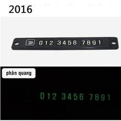 Thẻ số điện thoại phản quang