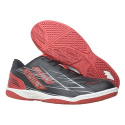 Giày đá banh futsal Pan Step III đen đỏ – P1S1