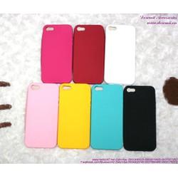 Ốp Iphone 5 silicol nút home chất liệu bền đẹp OP62