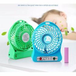 Quạt sạc tích điện mini usb fan