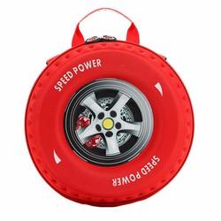 Ba lô hình bánh xe cho bé yêu
