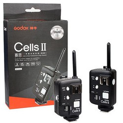 Kích đèn Trigger Godox Cells II for Canon,Nikon TTL Hss 1 trên 8000s