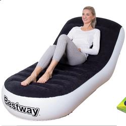 Ghế nệm hơi Bestway tặng kèm đĩa xoay eo giảm cân 360 độ