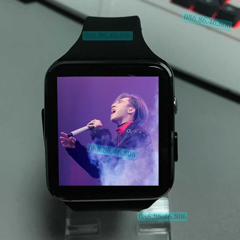 Đồng hồ thông minh Nhật siêu phẩm Màn Cong nghe gọi giải trí Fuji MB6 8