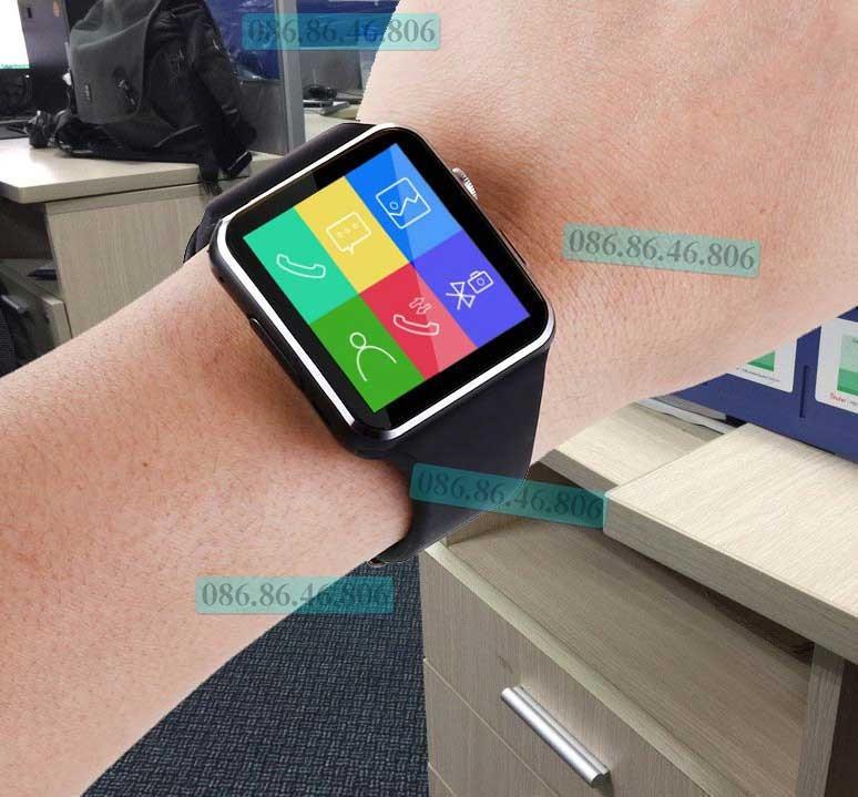 Đồng hồ thông minh Nhật siêu phẩm Màn Cong nghe gọi giải trí Fuji MB6 9
