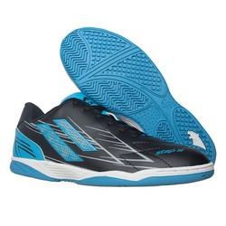 Giày đá banh futsal Pan Step III đen xanh - P1S2