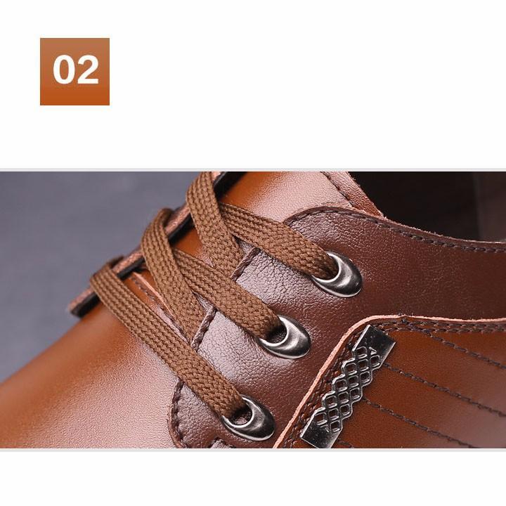 Giày Nam da thật cao cấp - Sang trọng, Nam tính. 11