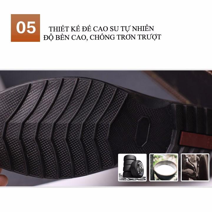 Giày Nam da thật - Mẫu mới sang trọng 12