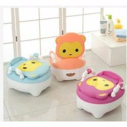 bô vệ sinh cho bé hình thú