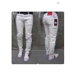 Quần Jean nam trắng trơn sang trọng cực đẹp