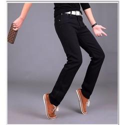 Quần jean nam mầu đen