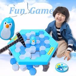 Bộ trò chơi tư duy Phá băng-Bẫy chim cánh cụt Cực vui nhộn