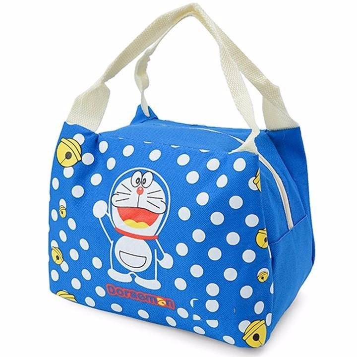 Túi giữ nhiệt hình Dorenon và Hello chấm bi 5
