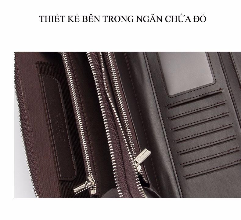 Ví Dài Nam cap cấp - Ví cầm tay mới nhất 2017 12