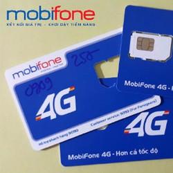Sim 4G Mobifone tặng 4 GB trong tháng trọn gói trong 12 tháng Miễn Phí
