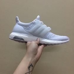 Giày nam Ultra Boost 3.0 All White chất cực đẹp