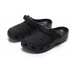 Dép sục Crocs. Yukon Sport Clog cho nam màu đen