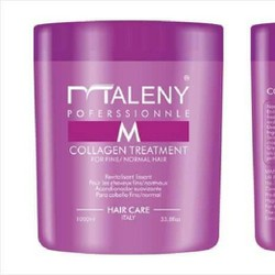 Hấp Phục Hồi Và Dưỡng Cho Tóc MALENY Collagen Treatment