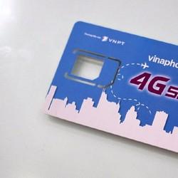 Sim 4G Vinaphone tặng 5GB trong tháng trọn gói trong 12 tháng Miễn Phí