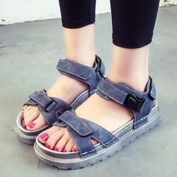 Giày Sandal Nữ màu sắc thời trang thiết kế năng động - XS0413