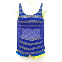 Set Bộ bơi quần đùi, áo ngực quây kèm áo lưới