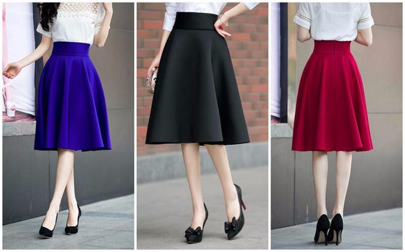 Chân váy có quần nót cho nàng sự thoải mái khi mặc 4
