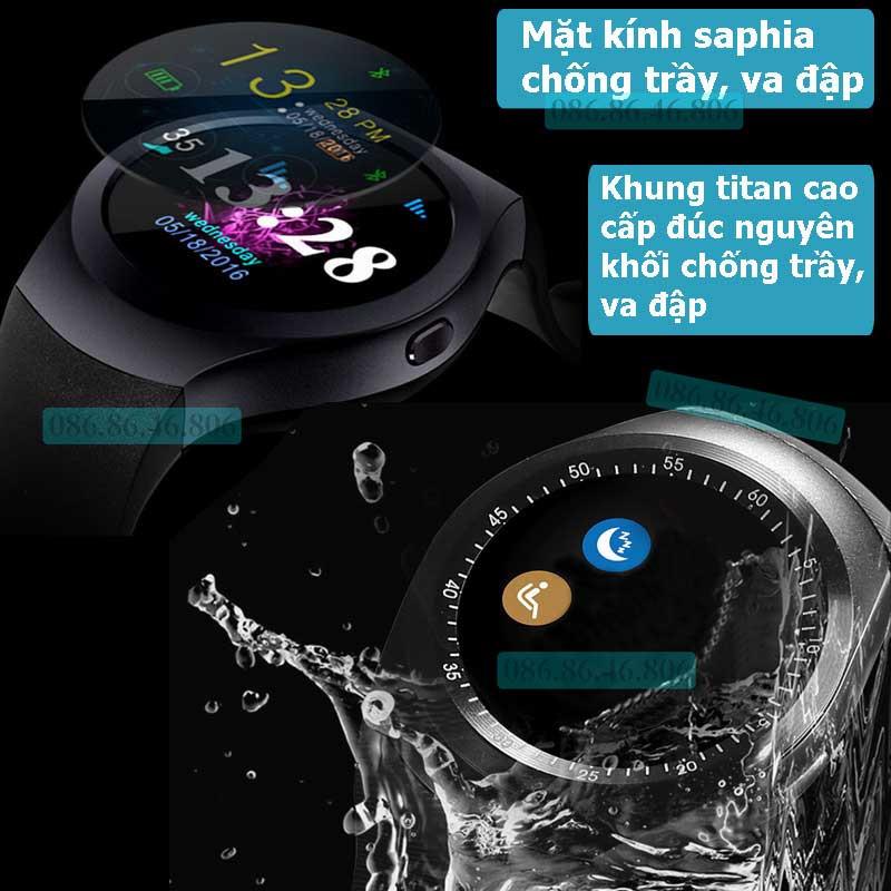 Đồng hồ thông minh Nhật Siêu Phẩm Nghe Gọi Giải Trí Đa Năng Fuji KW01 6