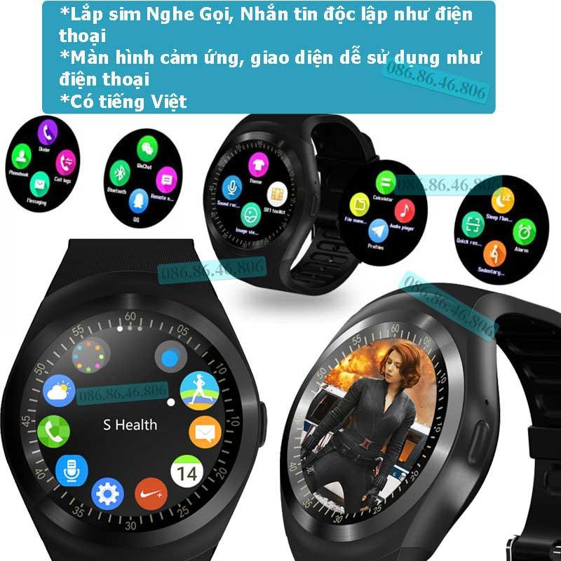 Đồng hồ thông minh Nhật Siêu Phẩm Nghe Gọi Giải Trí Đa Năng Fuji KW01 5