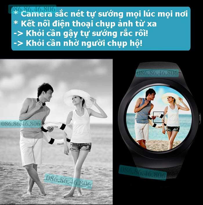 Đồng hồ thông minh Nhật Siêu Phẩm Nghe Gọi Giải Trí Đa Năng Fuji KW01 12