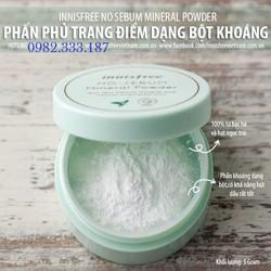 Phấn Phủ Bột Sebum Mineral Powder Hàn Quốc