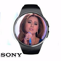 điện thoại đồng hồ SONY. mặt tròn loa to sóng khỏe mã MTBT-01