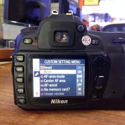 Máy ảnh Nikon D80 kit lens 18-55mm VR Qua sử dụng