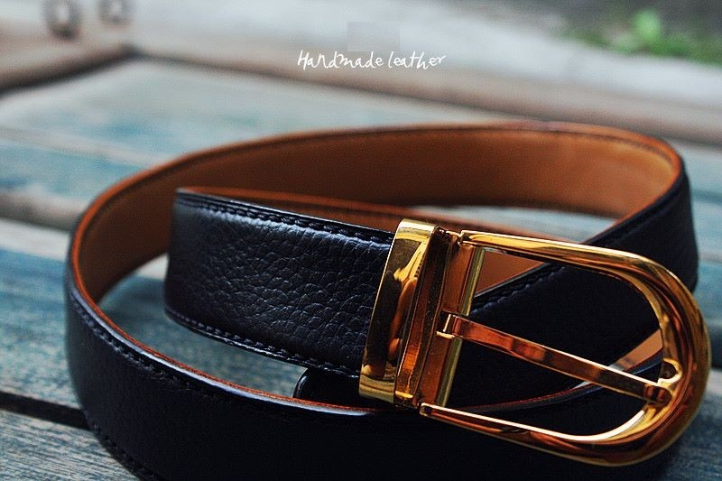 Thắt Lưng Handmade Da Bò Cao Cấp STLH016 3