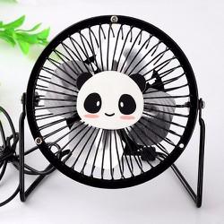 Quạt mini Panda đen