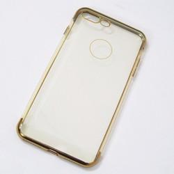 Ốp lưng dẻo iPhone 7 Plus mẫu đơn giản vàng - HỘP 2 CÁI