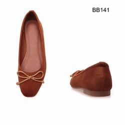 Giày Búp bê bệt da nhung - hàng cao cấp