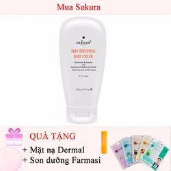 Kem dưỡng trắng toàn thân Sakura Skin Whitening