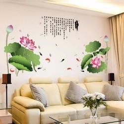 Decal trang trí phòng khách